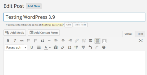 WordPress 3.9 Smith - A-support.dk