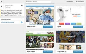 Browse themes - WordPRess 4.9 Tipton - A-support.dk