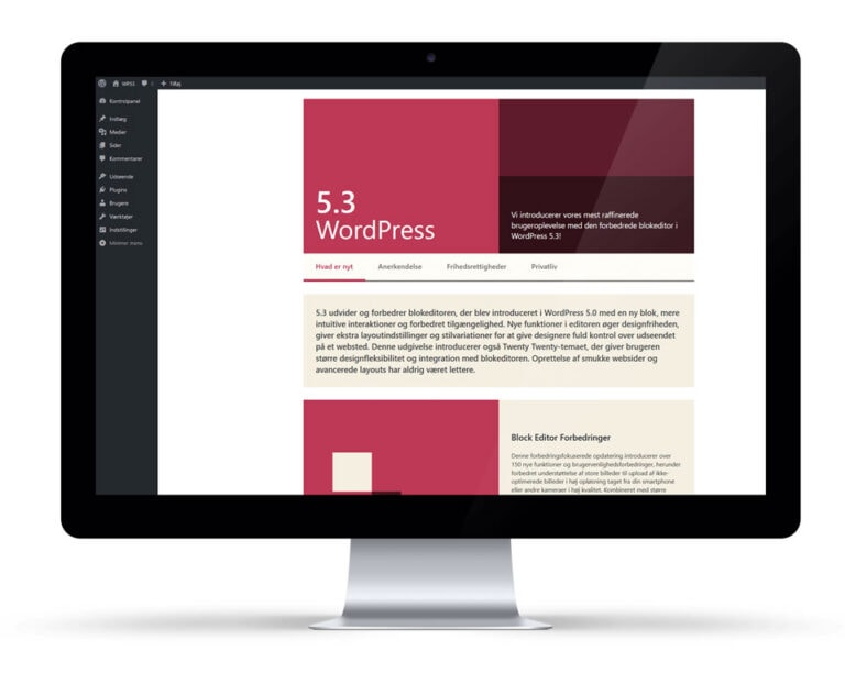 WordPress 5.3 Kirk