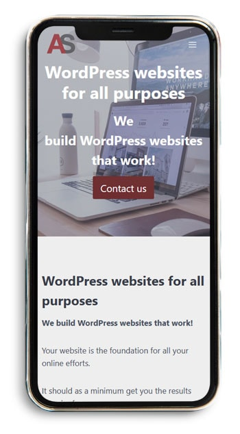 WordPress websites for all purposes - a-support